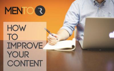 Come migliorare i tuoi contenuti