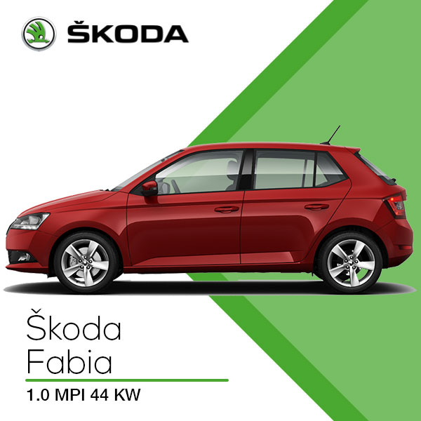 Skoda fabia active noleggio senza prova di reddito