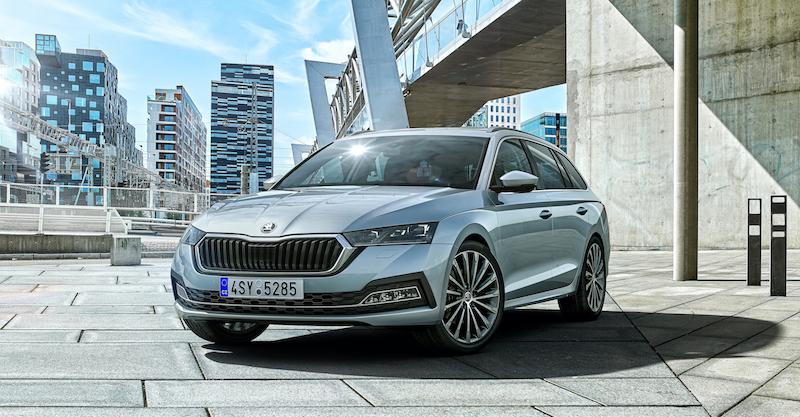 La nuova Škoda Octavia a noleggio su Revonet