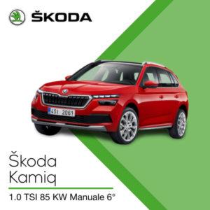 Skoda Kamiq noleggio senza prova di reddito