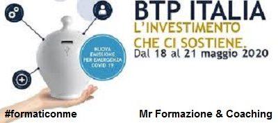 """La nuova risorsa per fronteggiare la crisi economica: """"I Btp Italia 2020"""""""