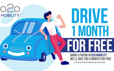 Bring a friend to o2o mobility and get one month rental for free