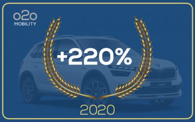 The year of COVID marks a record for o2o Mobility.